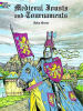 Medieval Jousts and Tournaments coloring book - 6,00 €