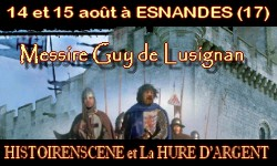 Esnandes (17) - Spectacle Messire Guy de Lusignan - 14/15 août 2011